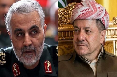 ممثل اقليم كردستان في ايران يروي تفاصيل اللقاء سليماني والبرزاني
