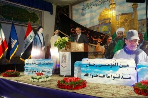 روز شهید عراق به مناسبت سالگرد شهید محمد باقر حکیم، گرامیداشت سید عبدالعزیز حکیم و بزرگداشت شهدای حشد الشعبی در تهران برگزار شد.
