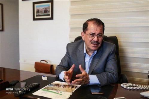 نماینده اقلیم کردستان عراق در ایران خبر داد:میانجیگری ایران برای حل اختلافات میان اربیل و بغداد
