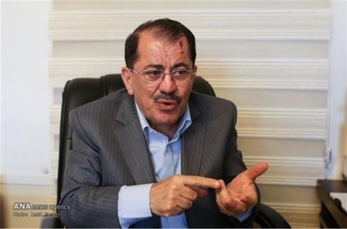 رئیس دفتر اقلیم کردستان عراق در تهران در گفتگو با آنا: کردهای سوریه به دنبال راه حل سیاسی باشند/ احتمال احیای داعش با بروز جنگ در منطقه